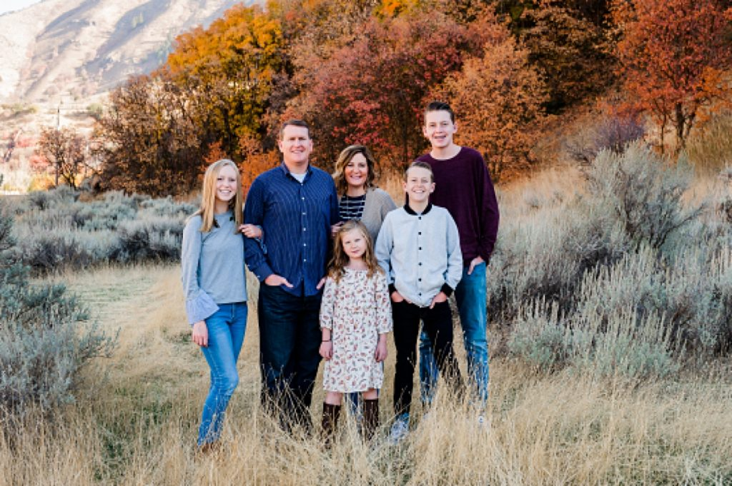 Christine and Fam || Cache Valley Photographer