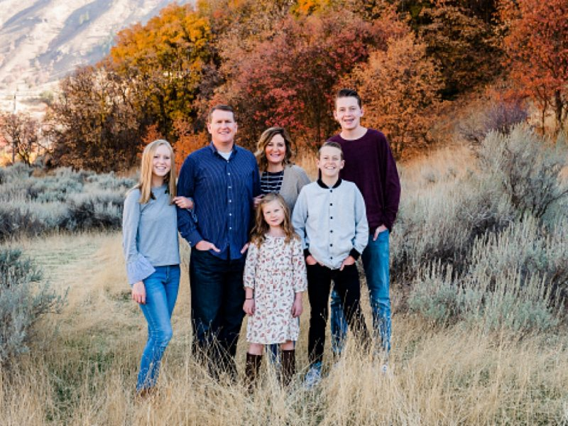 Christine and Fam    Cache Valley Photographer