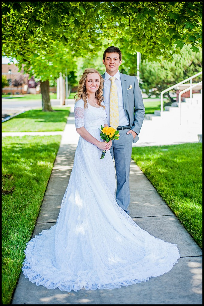 {Nathan & Kailey} Rexburg, Idaho Temple Wedding