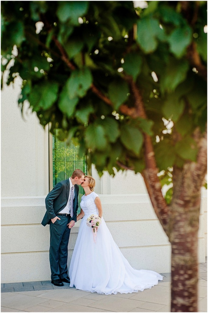 Raunde + Burke // Brigham City Temple Wedding