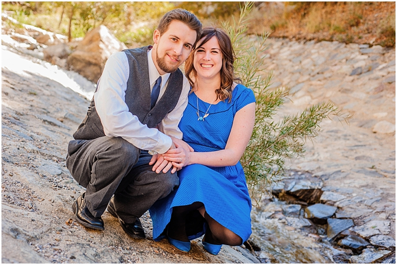 Ashley + Dan // Salt Lake City Engagements