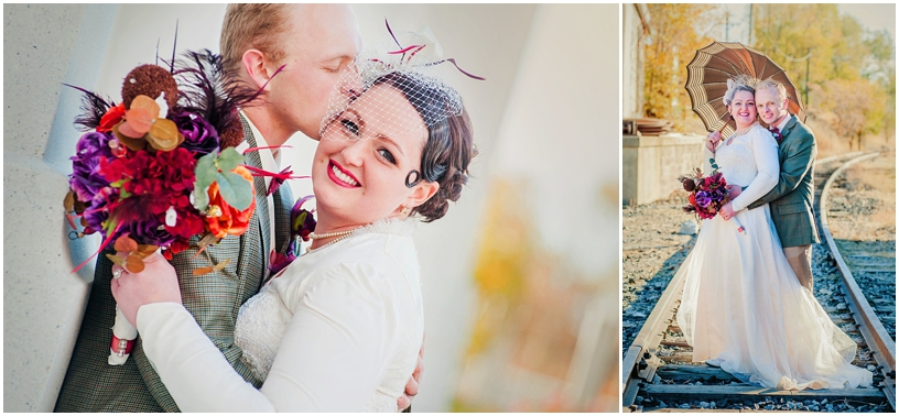 Ben + Jessica // Brigham City Temple Wedding Photographer