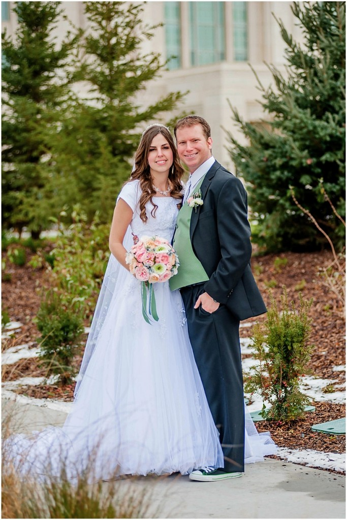 Kimberly + Dan // Ogden, Utah Temple Wedding