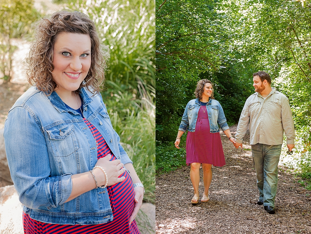 Traci + Luke = Twins // Cache Valley Maternity Photographer