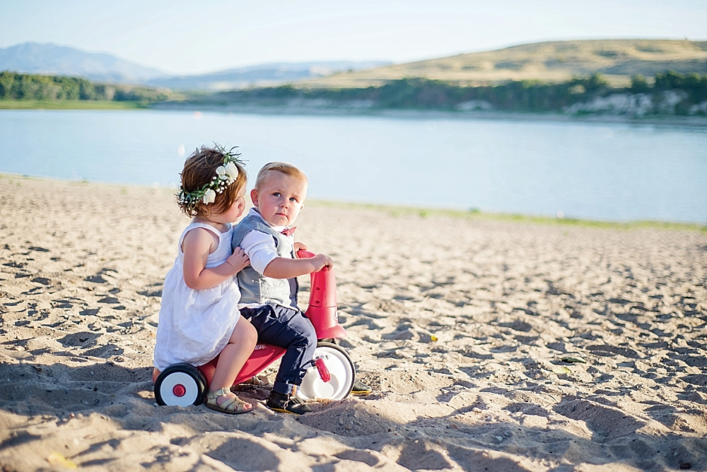 Emmy & Deacon // Inspiration Shoot // Logan, Utah Baby Photographer