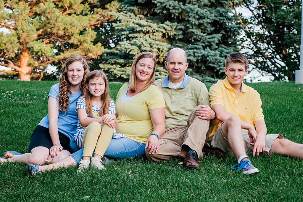 Saxton Family || Logan, Utah Family Photographer