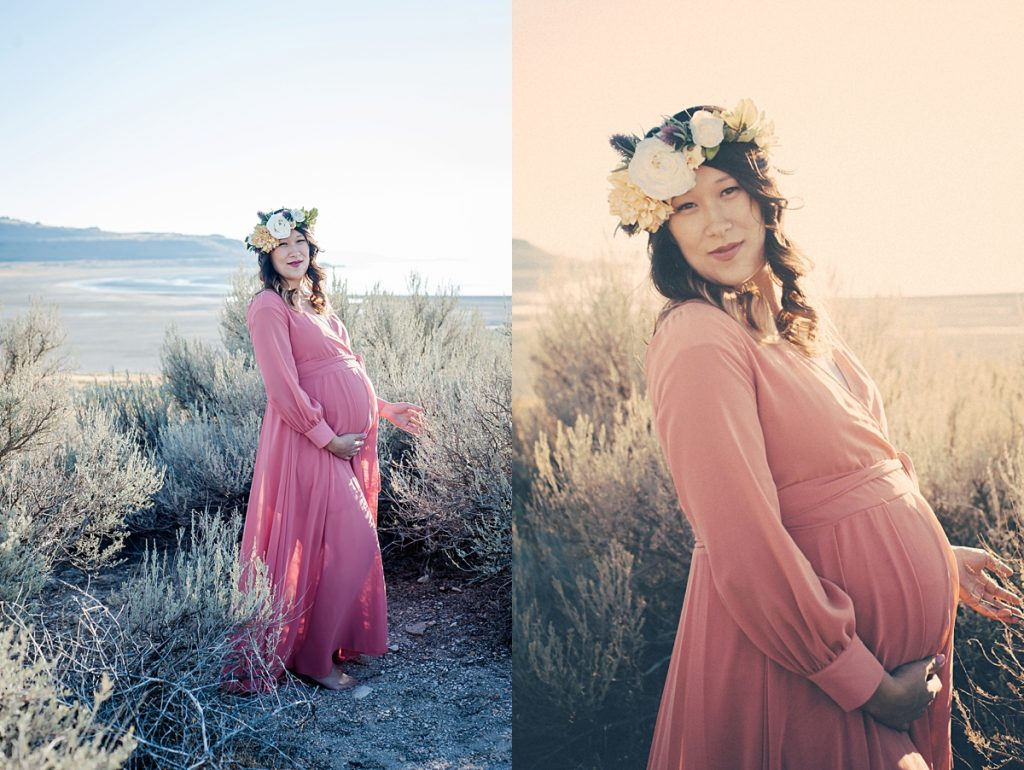 Emi Maternity || Cache Valley Maternity Photographer