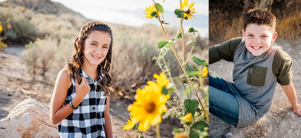 G Family || Antelope Island Family Pictures