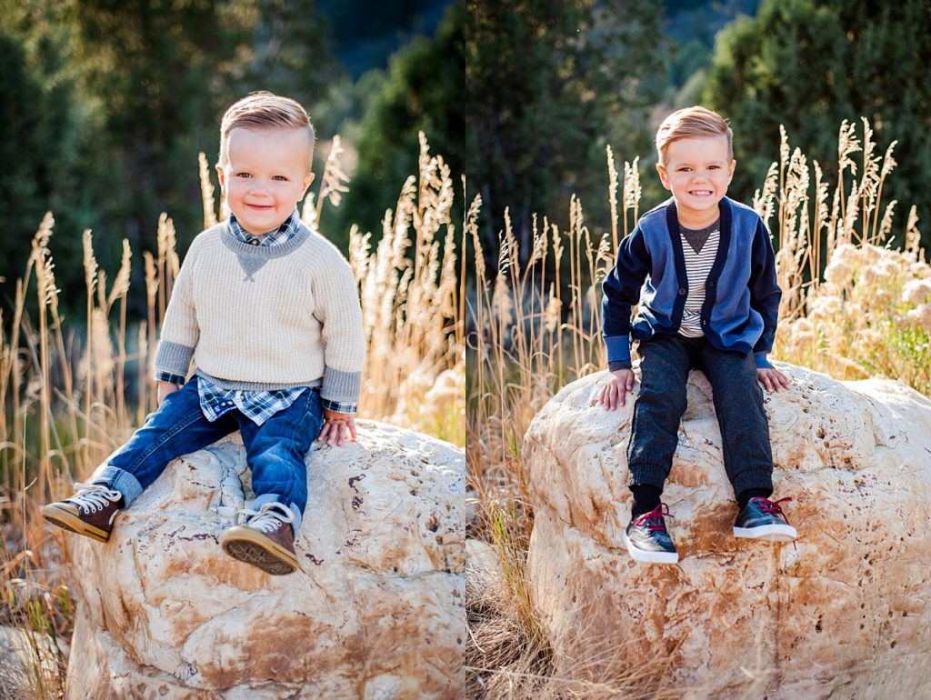 B Family || Logan Canyon Fall Family Pictures