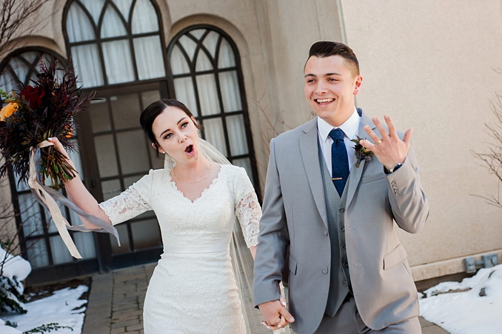Morgan + Kaleb || Logan Temple Wedding Photographer