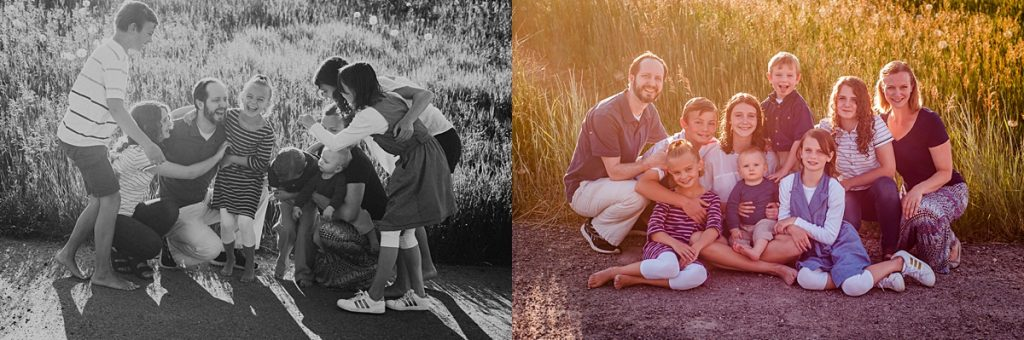 E Family || Bear Lake Family Reunion Photographer