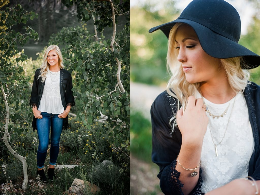 Sadie – Tony Grove || Logan, Utah Senior Portrait Photographer