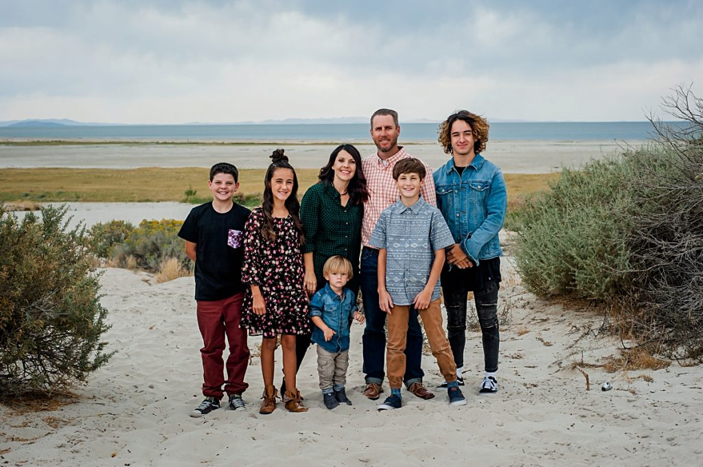 Lindy + Cam + Family || Antelope Island Family Photographer