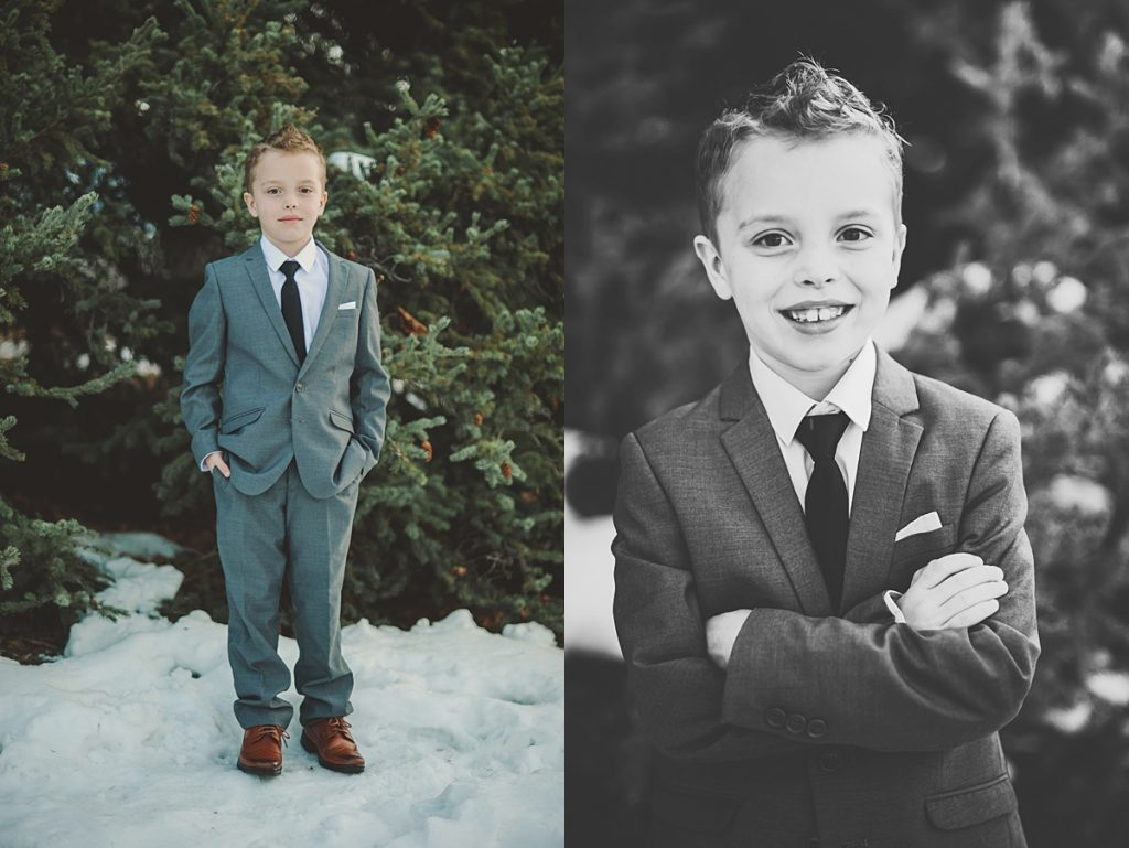 Zoey and Ezra Baptism || Logan, Utah Photographer