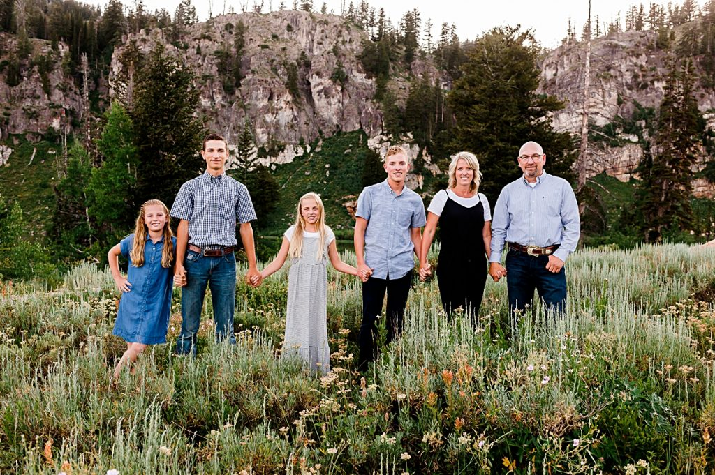 Laurie & Family at Tony Grove || Logan, Utah Family Photographer