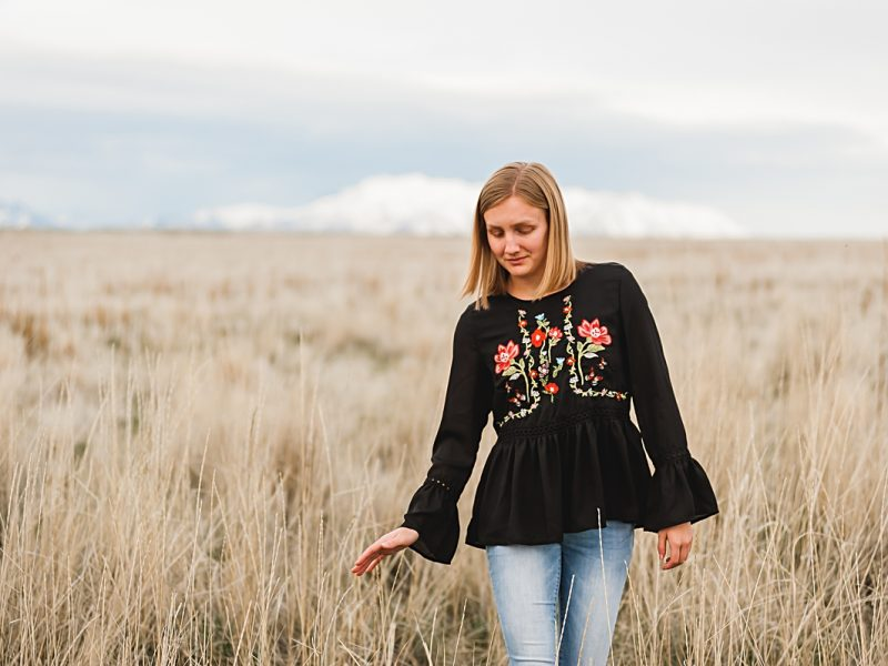 Anya || Centerville, Utah Senior Portrait Photographer