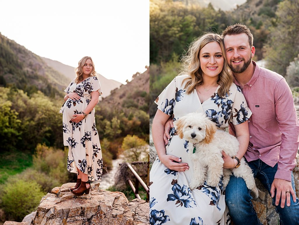 Abbi + Jake || Centerville, Utah Maternity Portrait Photographer
